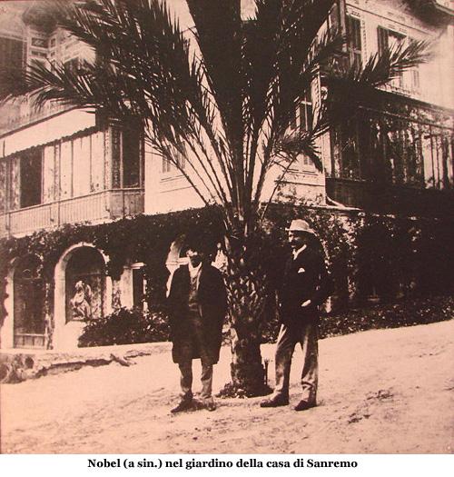 600px-Alfred_Nobel_with_Robert_Strehlenert_at_Sanremo_1896