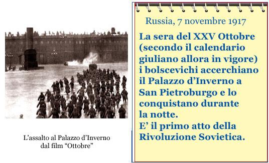 Calendario Accadde Oggi.Accadde Oggi Inizia La Rivoluzione Sovietica Iniziativa Laica