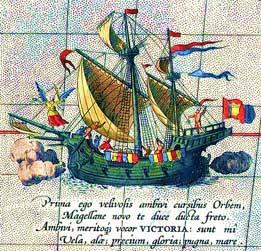 Ortelius_Magellan_ship_Victoria