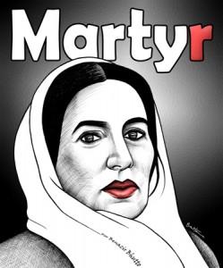 Benazir_Bhutto__Martyr_by_BenHeine