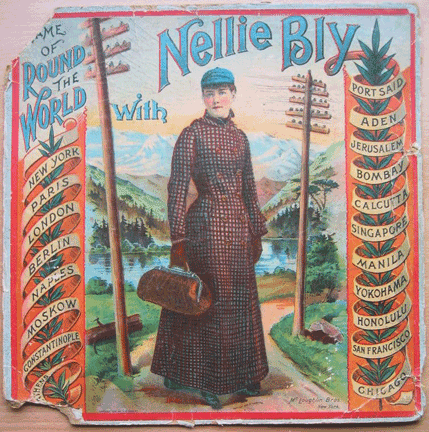 Game of Round the World with Nellie Bly